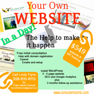 YourOwnWebsite